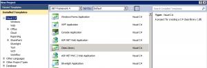 Visual Studio Class