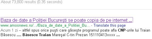 Traian Basescu CNP